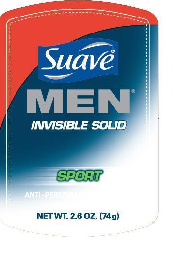 Suave Is Men Sport Antiperspirant And Deodorant (Aluminum Zirconium Tetrachlorohydrex Gly) Stick [Conopco Inc. D/b/a Unilever]