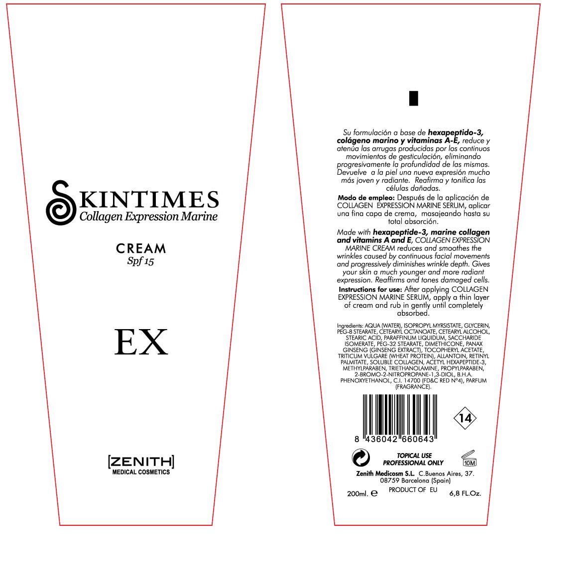 Expression Marine (Octinoxate) Cream [Zenith Medicosm Sl]