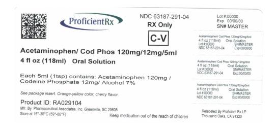 Acetaminophen And Codeine Phosphate Solution [Proficient Rx Lp]