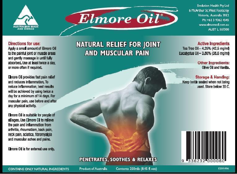 Elmore Oil (Eucalyptus Oil And Tea Tree Oil) Oil [Ultra Mix (Aust) Pty Ltd ]