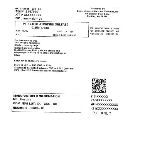 Atropine Sulfate Injection, Solution [General Injectables & Vaccines, Inc.]