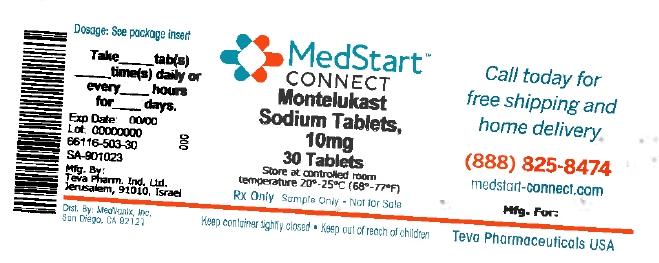 Montelukast Sodium Tablet, Film Coated [Medvantx, Inc.]