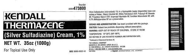 Thermazene (Silver Sulfadiazine) Cream [Covidien Inc.]