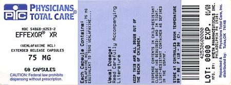 Principal Display Panel - 75 mg - Label