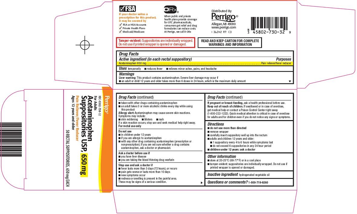 Acetaminophen Suppositories Image 2