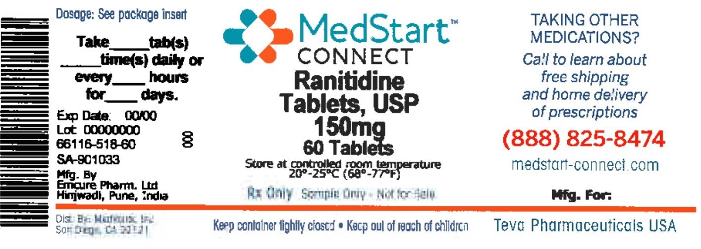 Ranitidine Tablet, Film Coated [Medvantx, Inc.]
