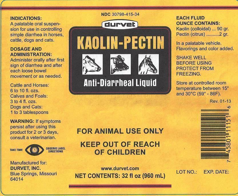 Kaolin Pectin Suspension [Durvet, Inc.]