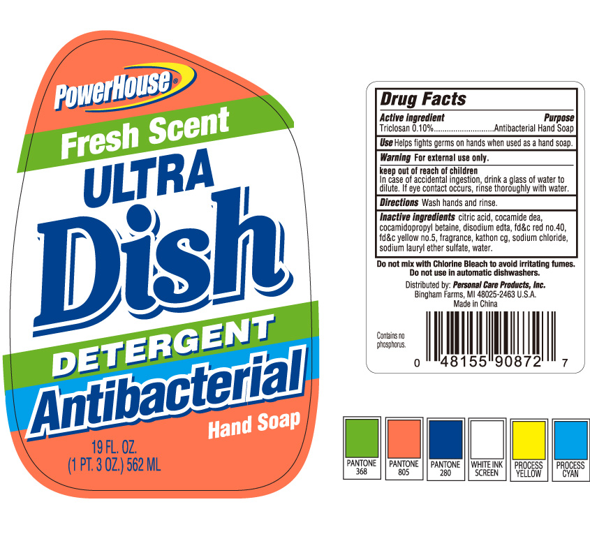Powerhouse Fresh Scent Ultra Dish (Triclosan) Soap [Personal Care Products]