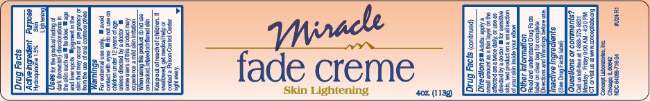 Miracle Fade (Hydroquinone) Cream [Concept Laboratories, Inc.]