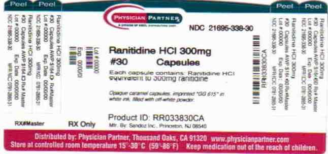 Ranitidine HCl 300mg