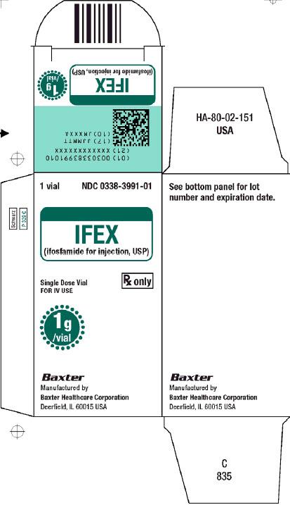IFEX Carton Label 1 of 2