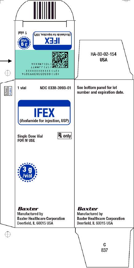 Ifex Representative Carton Label 0338-3993-01 1 of 2