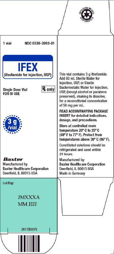 Ifex Representative Carton Label 0338-3993-01 2 of 2