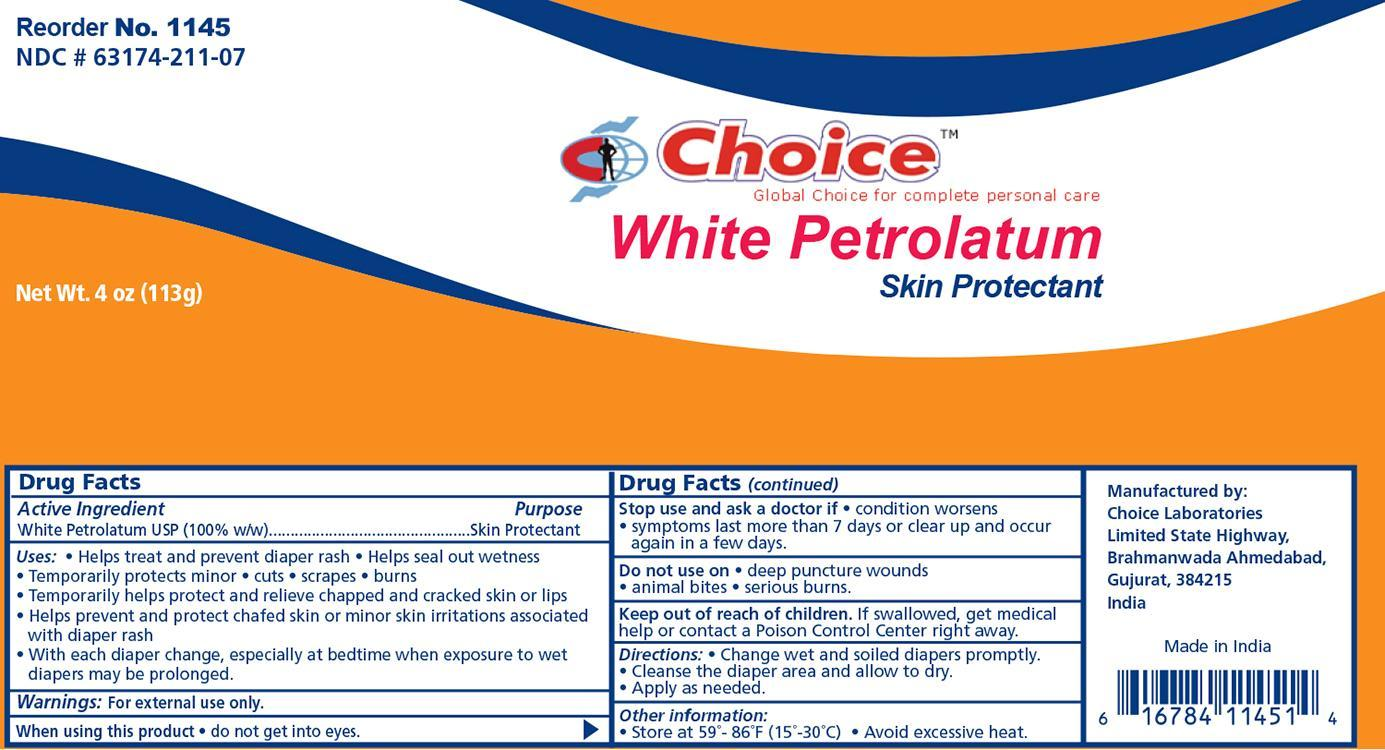 Petrolatum Jelly [Choice Laboratories Limited]