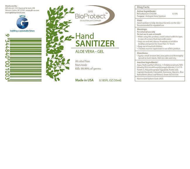 Gfs Bioprotect Hand Sanitizer Aloe Vera (Benzalkonium Chloride) Gel [Gfs Us Llc]