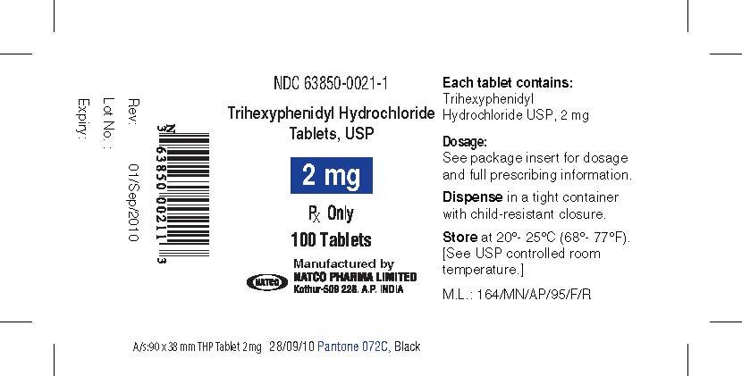 Trihexyphenidyl Hydrochloride (Trihexyphenidyl Hydrochloride ) Tablet [Natco Pharma Limited-pharma Division]