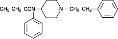 Fentanyl Transdermal Structural Formula