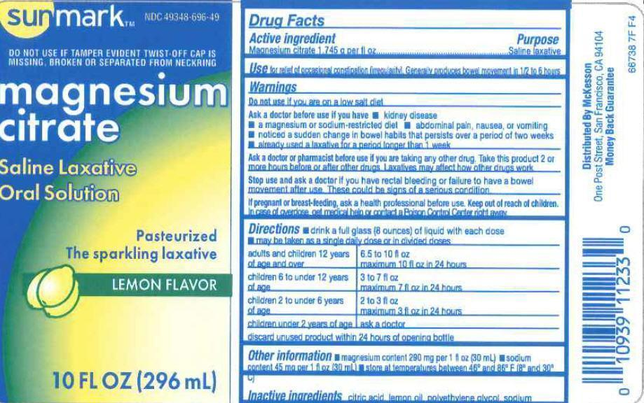 Magnesium Citrate Liquid [Mckesson]