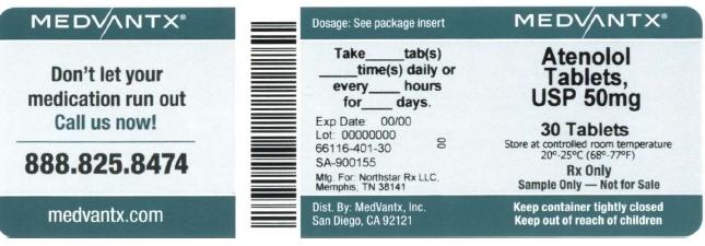 Atenolol Tablet [Medvantx, Inc.]