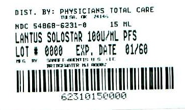 image of 5 count 3 mL SoloStar label