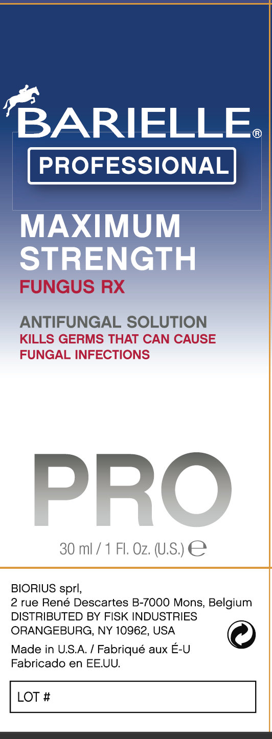 Barielle Professional PRO Fungus Rx Outer Package 3