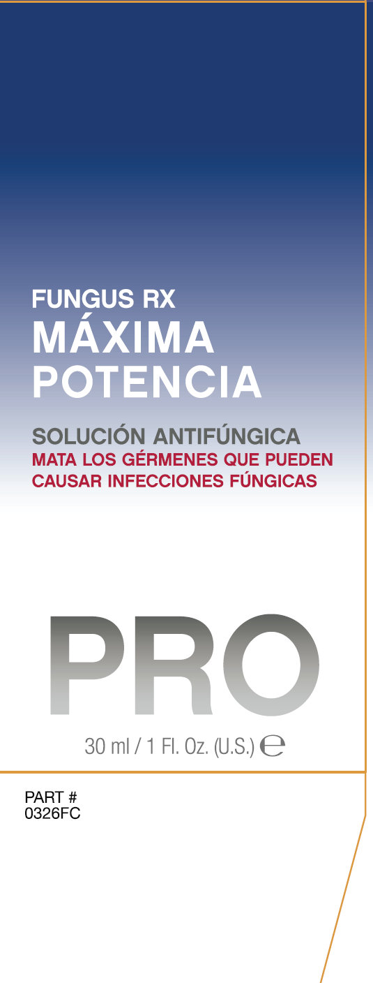 Barielle Professional PRO Fungus Rx Outer Package 4