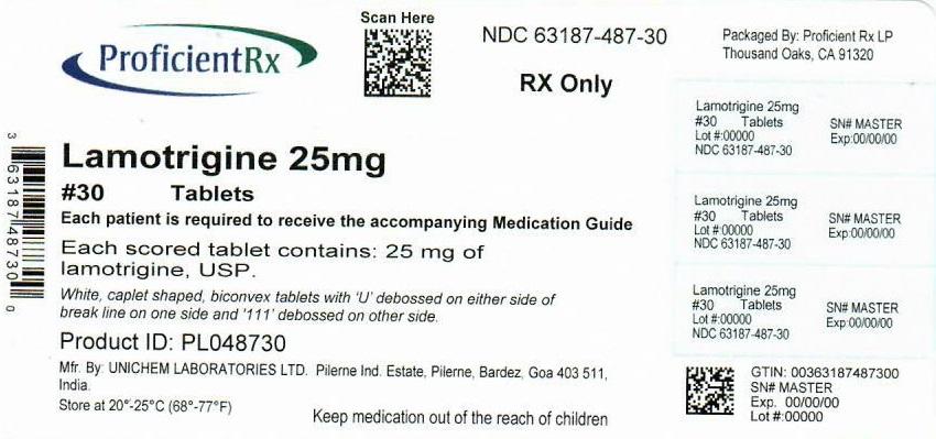 Lamotrigine Tablet [Proficient Rx Lp]