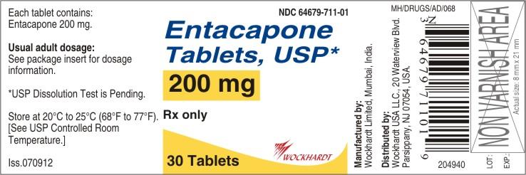 Entacapone Tablet, Film Coated [Wockhardt Limited]