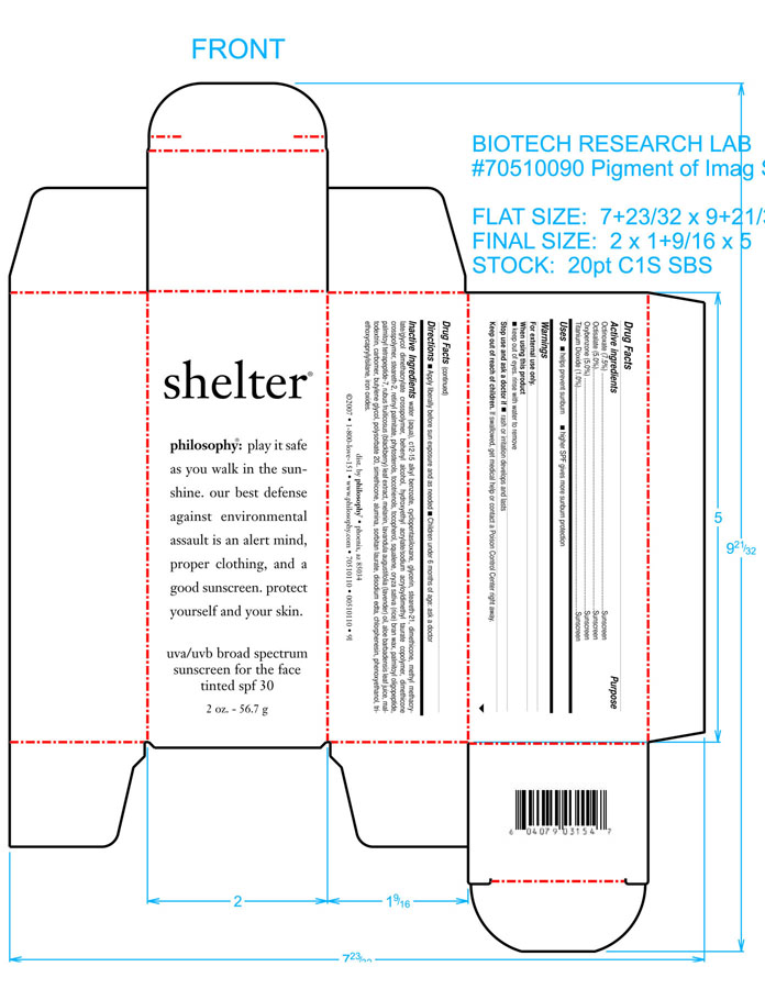 Shelter (Octinoxate And Octisalate And Oxybenzone And Titanium Dioxide) Cream [Philosophy, Inc.]