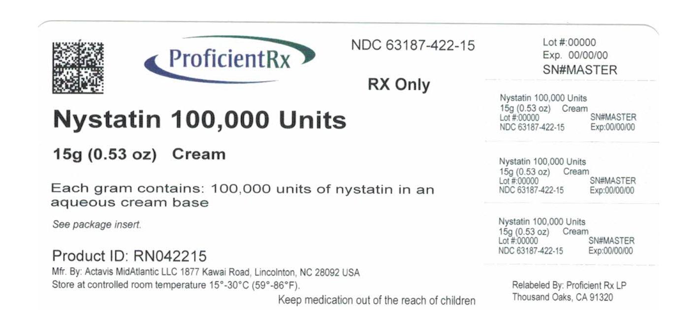 Nystatin Cream [Proficient Rx Lp]