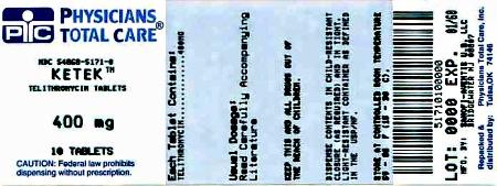 PRINCIPAL DISPLAY PANEL - 400 mg Tablets