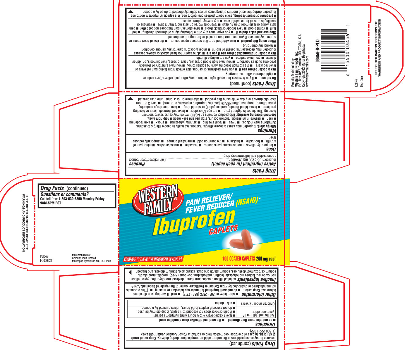 Ibuprofen Tablet [Western Family Foods, Inc.]