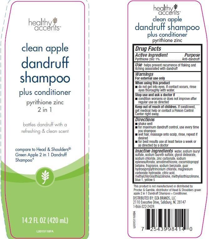 2 In 1 Dandruff (Pyrithione Zinc) Shampoo [Dza Brands]