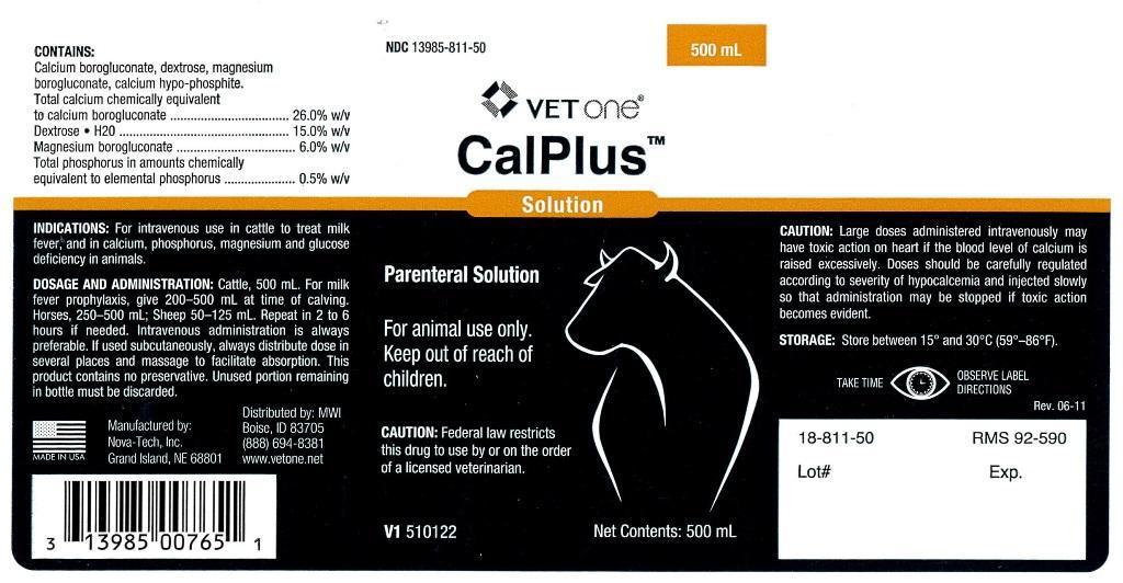 Calplus Injection, Solution [Mwi (Vetone)]