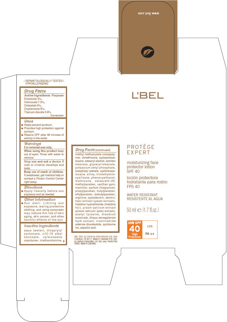 Lbel Protege Expert (Ensulizole, Octinoxate, Octisalate, Oxybenzone, And Titanium Dioxide) Lotion [Ventura Corporation Ltd.]