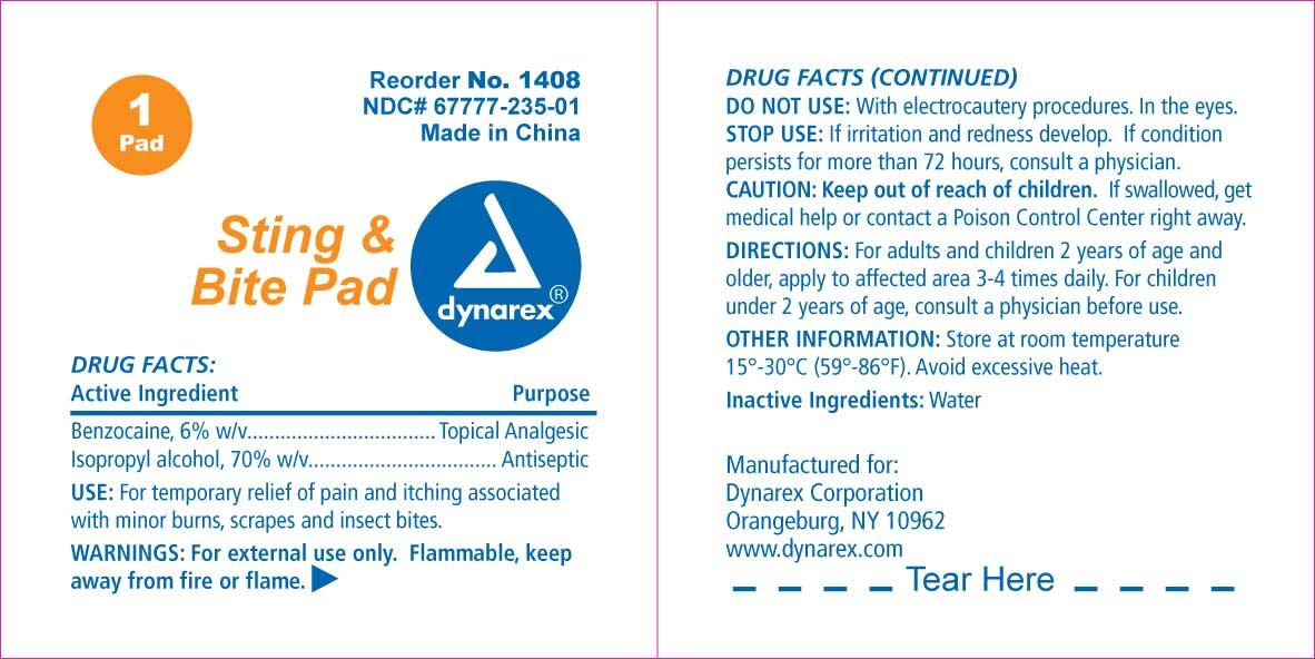 Benzocaine Swab [Dynarex Corporation]
