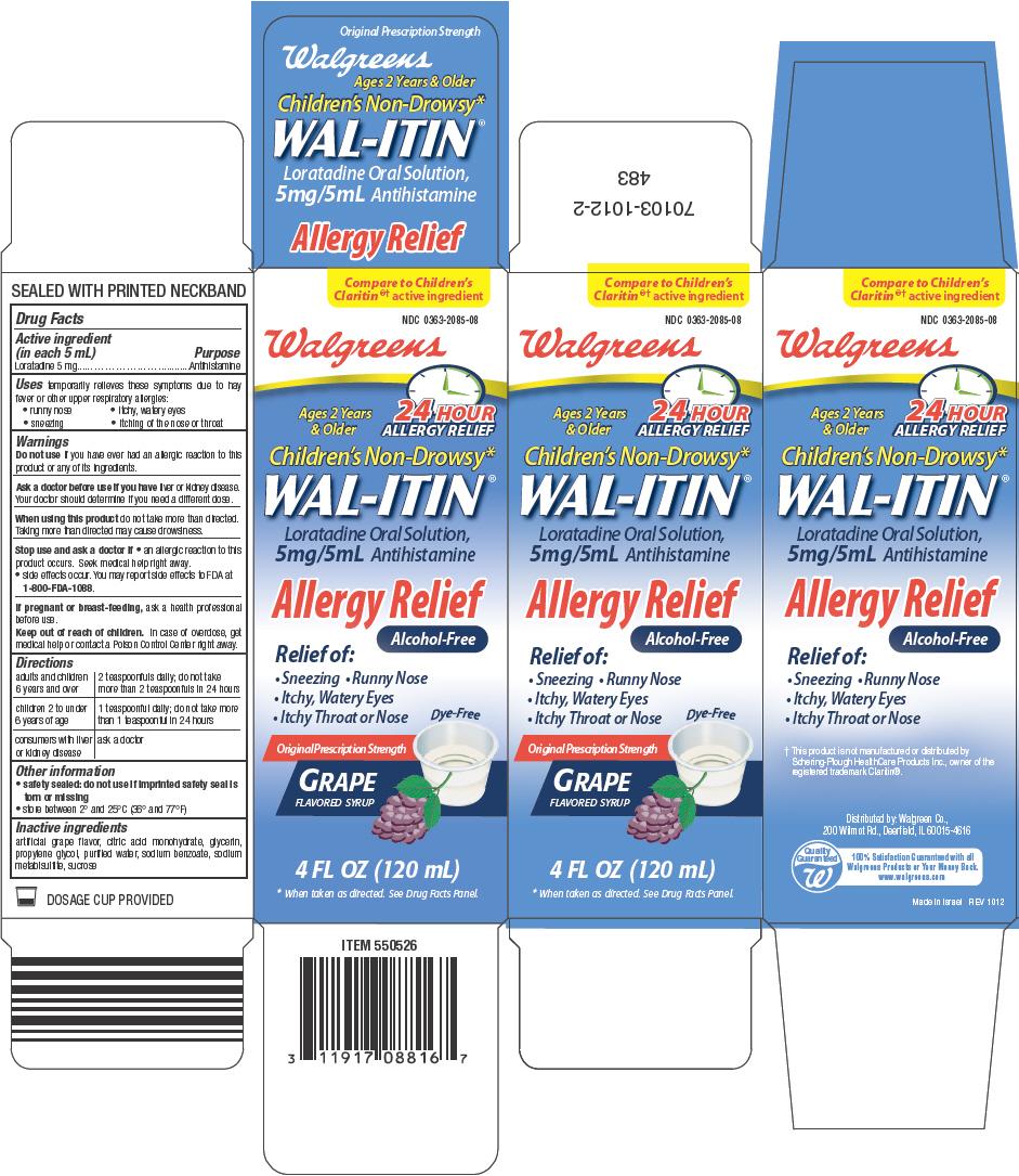 Wal-itin Allergy Relief (Loratadine) Solution [Walgreen Company]
