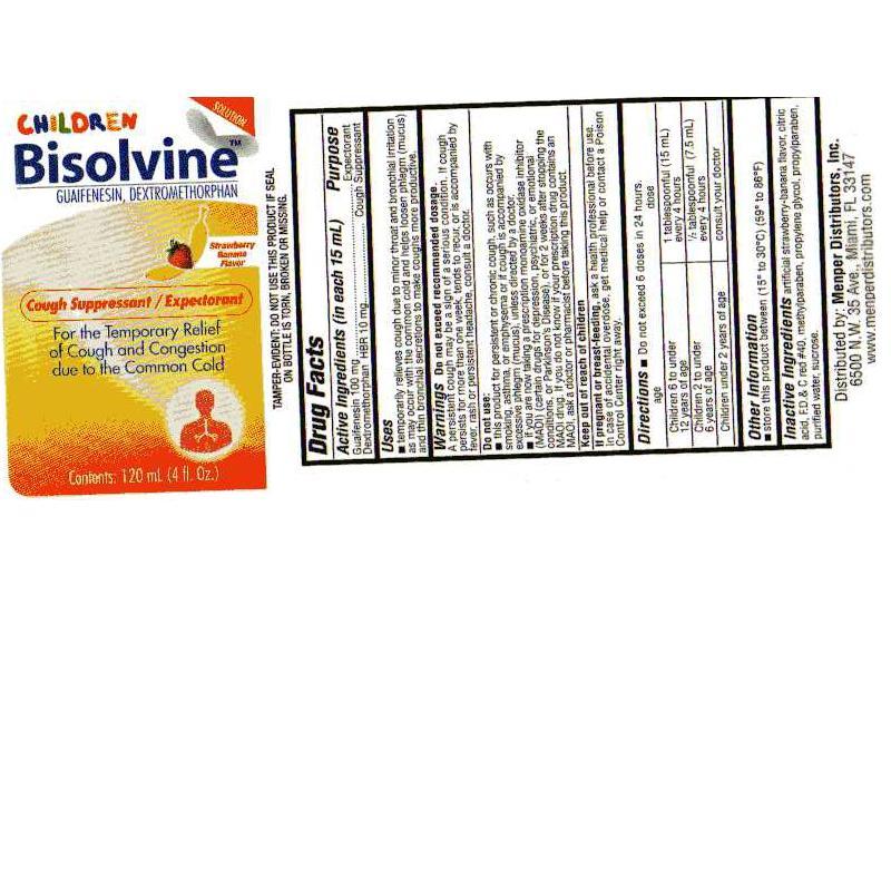 Bisolvine Child (Guaifenesin, Dextromethorphan) Liquid [Pharmalab Enterprises Inc.]