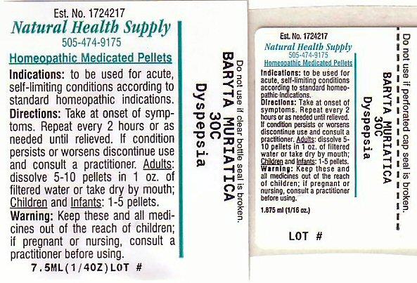 Dyspepsia (Barium Cation) Pellet [Natural Health Supply]
