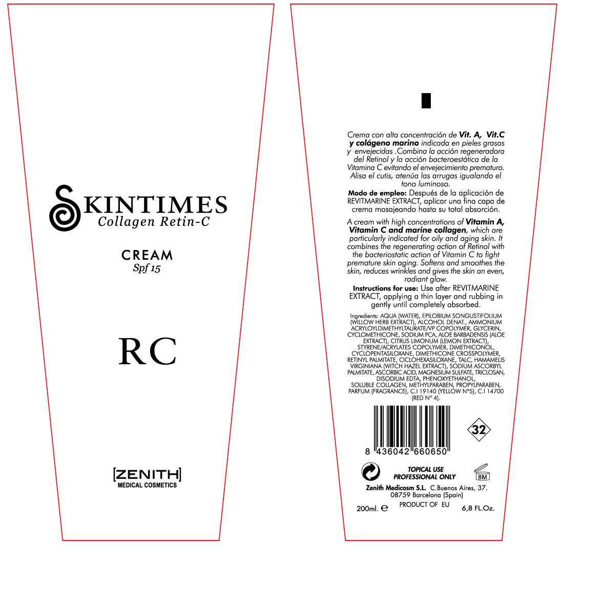 Retin C (Octinoxate) Cream [Zenith Medicosm Sl]