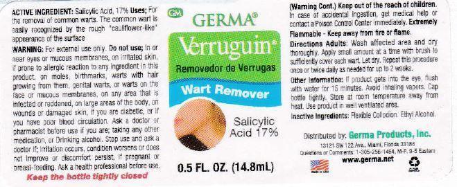 Verruguin (Salicylic Acid) Gel [World Perfumes, Inc]