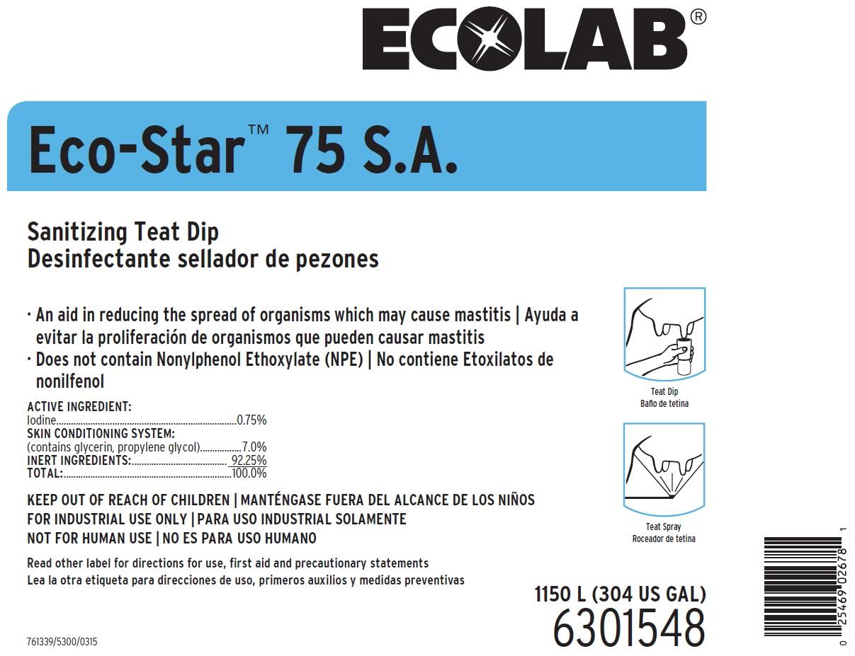 Eco-star (Iodine) Solution [Ecolab Inc.]