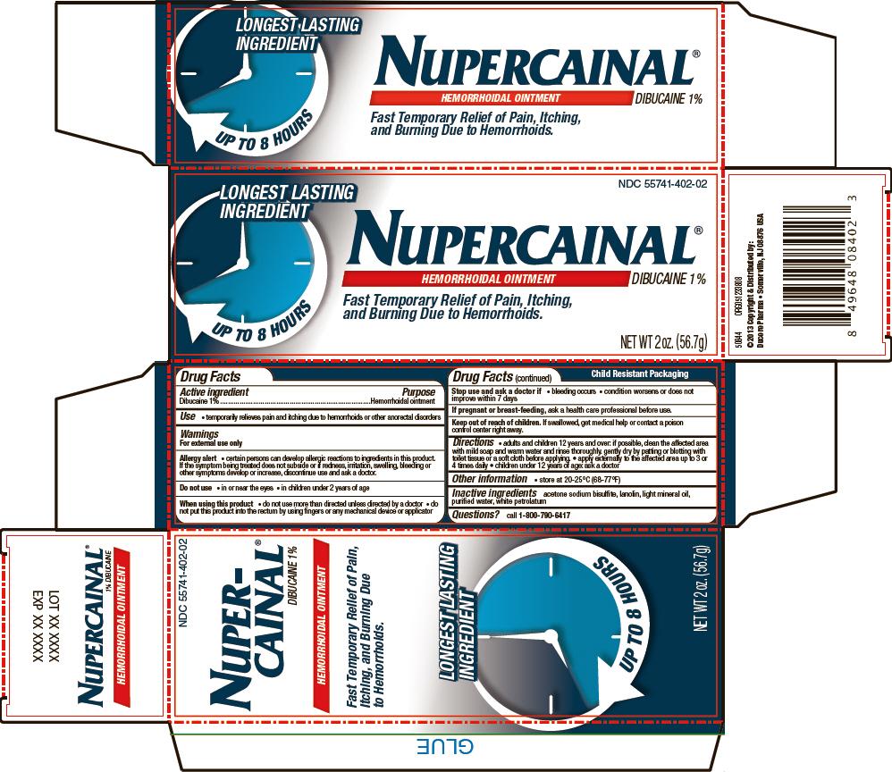 Nupercainal (Dibucaine) Ointment [Ducere Pharma]