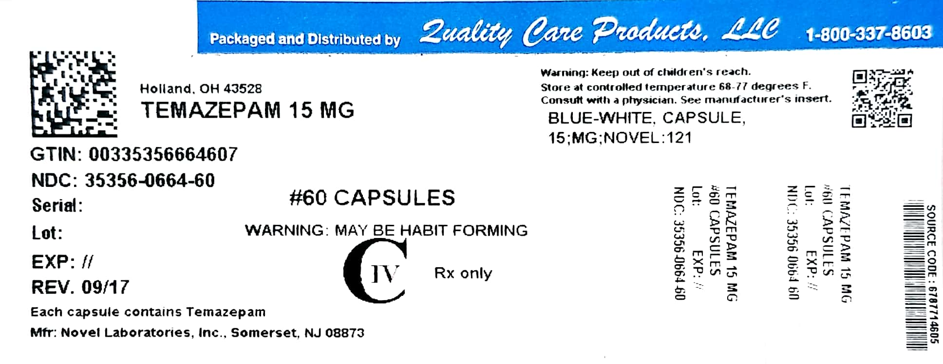 Image of 15mg Label