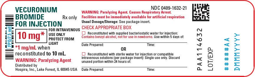 PRINCIPAL DISPLAY PANEL - 10 mg Vial Label
