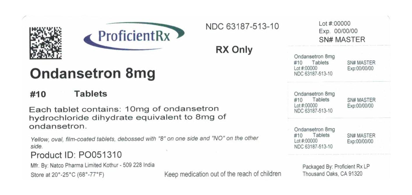 Ondansetron (Ondansetron Hydrochloride) Tablet, Film Coated [Proficient Rx Lp]