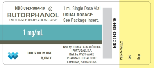 Butorphanol Tartrate Injection, Solution [West-ward Pharmaceutical Corp]