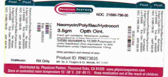 Neomycin/Poly/Bac/Hydrocort 3.5 gm