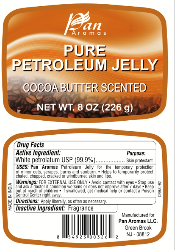 Pure Petroleum Cocoa Butter Scented (White Petroleum) Jelly [Pan Aromas Llc]