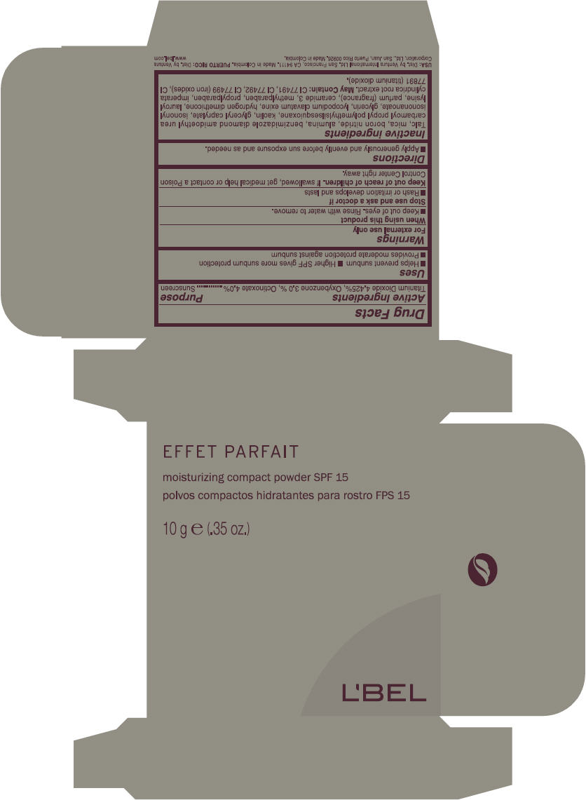 Lbel Effet Parfait (Titanium Dioxide, Oxybenzone, And Octinoxate) Powder [Ventura Corporation Ltd]